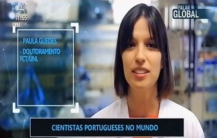 Paula Guedes, a post-doc at CENSE, highlighted at CMTV